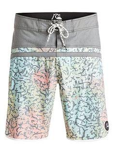 9adfc86105 Amazon.com: Quiksilver Men's Stomp Cracked Scallop 20 Inch Boardshort:  Clothing. Swim ShortsBermuda ...