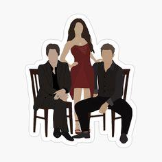 The Vampire Diaries Characters, Vampire Diaries Quotes, Vampire Diaries The Originals, Cute Laptop Stickers, Meme Stickers, Vampire Daries, Vampire Diaries Wallpaper, Aesthetic Stickers, Damon