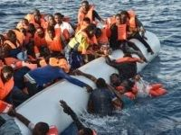 Scenes of panic as people fall in the water during a rescue operation by the Maltese NGO Moas and the Italian Red Cross off the Libyan coast on Thursday. La Migration, School Bus Driver, Sky News, Life And Death, Northern Italy, Rest Of The World, North Africa, Coast, Morocco