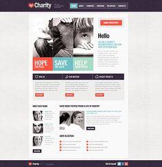 charity non profit web design