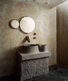 COCOON modern bathroom inspiration bycocoon.com | brutalist | bathroom design products for easy living | inox stainless steel bathroom taps | renovations | interior design | villa design | hotel design | Dutch Designer Brand COCOON