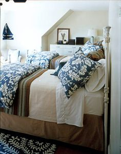 White, blue, brown, tan.   The Five Minute Jump Start the Day Routine - The Inspired Room