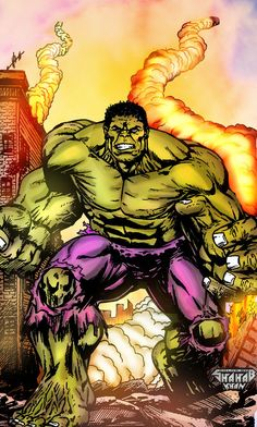#Hulk #Fan #Art. (Hulk Color By: Shahab Khan & Shahabkhan01. (THE * 5 * STÅR * ÅWARD * OF: * AW YEAH, IT'S MAJOR ÅWESOMENESS!!!™)[THANK Ü 4 PINNING!!!<·><]<©>ÅÅÅ+(OB4E)