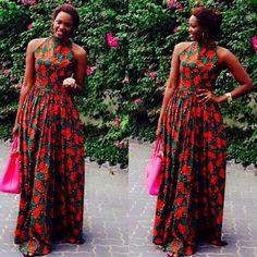 Kiki's Fashion: Consolatha in Kiki's Fashion Maxi dress