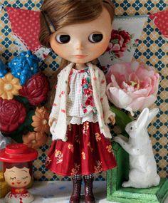 Sugarbabylove  Rose set for Blythe by SugarbabyloveDoll on Etsy