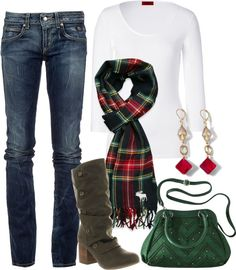 Christmas outfit...gotta plan ahead of time because I love love love Christmas!