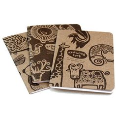 Drawing Books Set Of 3 now featured on Fab.