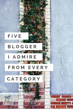 I am  always about highlighting up and coming bloggers(link), or people who have that flair but haven't found their audience yet.