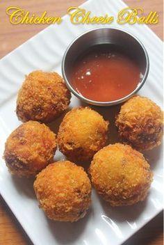 YUMMY TUMMY: Chicken Cheese Balls Recipes