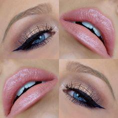 crystal_conte One Brand Tutorial - Make Up 2019 Perfect Makeup, Pretty Makeup, Love Makeup, Simple Makeup, Makeup Inspo, Natural Makeup, Makeup Inspiration, Makeup Set, Eye Makeup Tips
