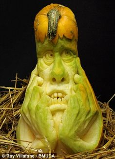 http://www.dailymail.co.uk/news/article-1324109/Artist-Ray-Villafane-carves-pumpkin-portraits-just-hours.html