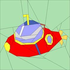 (7) Name: 'Quilting : Submarine 2
