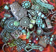 Turquoise jewelry will NEVER go out of style