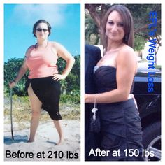"""Back in 2009, I decide to do something about my size 18 and 210 pound body.  I downloaded the """"LOSE IT!"""" app and dropped 15 pounds in 3 days.  Within a few months, I was 150 pounds and a size 8.  Instead of a diet that wouldn't last, I decided to make a lifestyle change of eating healthier and exercising at home (Zumba, fast walking and light jogging) (no pills and no shots).  The """"After"""" picture is from 2012 after keeping the weight off."""