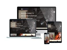 LT Photography One Page Joomla by @Graphicsauthor