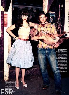 Zooey Deschanel for Glamour Magazine | #celebs #zooey #style #fashion