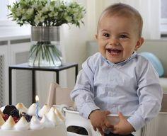 Swedish Prince Oscar Celebrates His First Birthday