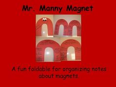 Manny the Magnet Foldable