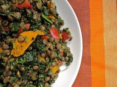 Scissors and Spice: Spice in the Kitchen: Savory Rhubarb Lentil Curry