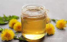 Sirop de Papadie Candle Jars, Candles, Honey, Apothecary, Food, Essen, Candy, Pharmacy, Meals