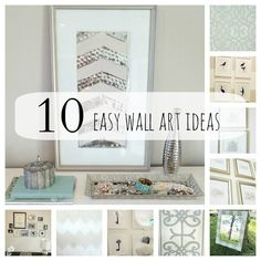 10 DIY Wall Art Ideas Anyone Can Do