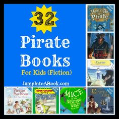 A great pirate booklist from Jump Into a Book.
