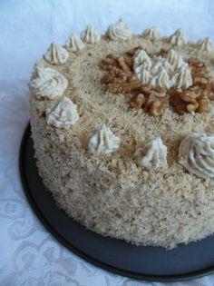 Torte Recepti, Kolaci I Torte, Torte Cake, Croatian Recipes, Macedonia, Vanilla Cake, Cake Recipes, Deserts, Good Food