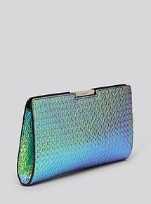 Found this while shopping with PersonalShopping : Milly 'Miley Hologram Frame' Clutch