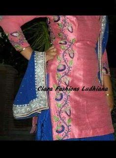 Beautiful suit Phulkari Suit, Patiala Suit, Salwar Kameez, Punjabi Suit Boutique, Boutique Suits, Indian Suits, Punjabi Suits, Beautiful Suit, Indian Fashion