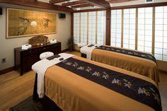 Couples massage at Shibui Spa in Sisters, Oregon