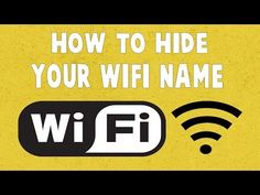 How To Hide Your Wifi Network/Signal From Others (Works on any Routers)