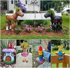 10 Cool Clay Pot Garden Crafts for You to Try a