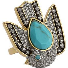 Shop Classic, Contemporary and Designer clothing, shoes and accessories at The Style Room (powered by Zappos)! Gold Rings, Gemstone Rings, Juicy Couture Jewelry, I Feel Pretty, Best Gifts, Gemstones, My Style, Sparrows, Accessories