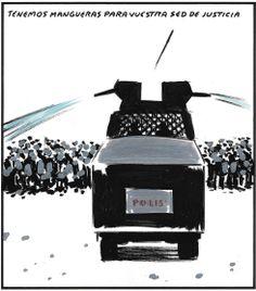Viñeta: El Roto - 9 DIC 2013. Sed de justicia
