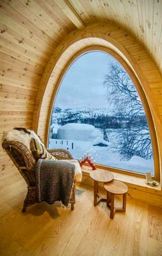 mountain house window seat