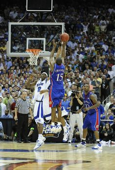 Best KU basketball moment ever. KU basketball has always been a big part of my life. Keeping up with recruiting news and players is a hobby of mine Kansas Jayhawks Basketball, Basketball Jones, Basketball Scoreboard, Basketball Teams, College Basketball, Ku Bball, Kentucky Basketball, Kentucky Wildcats, Soccer