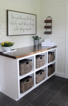 Light Farmhouse Laundry Laundry Room Ideas We're Obsessed With Southern Living. 15 Outstanding Laundry Room Lighting Concept In Modern . New York Modern Laundry Room With Vinyl Tile Plank Floor . Home and Family Laundry Room Remodel, Laundry Room Organization, Laundry Room Design, Laundry Storage, Storage Organization, Laundry Closet, Small Laundry, Laundry Table, Laundry Room Folding Table
