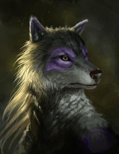 White Wolf With Purple Eyes 1000+ images about WOL...