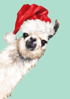 Llamas, Llama Arts, Christmas Pillow, Merry Christmas, Big Noses, Iphone Skins, Can, Dark Wood, Soft Colors