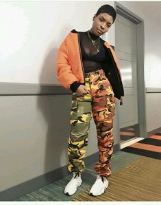 Best Baddie Outfits Part 19 Dope Fashion, Black Women Fashion, Fashion Killa, Urban Fashion, 90s Fashion, Fashion Looks, Fashion Outfits, Fashion Trends, Camo Outfits
