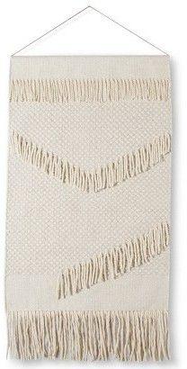 Target Wall Hangings macrame bunting, bunting banner, white baby bunting, macrame