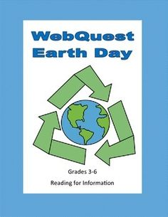 This is a web search designed to give students factual information about Earth Day as they use the internet. During the search they use a variety of strategies and skills that will prepare them to do research. They learn the background to Earth Day and some ideas for projects they can do on this special day.