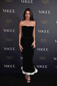 Kendall Jenner de Ulyana Sergeenko Couture Fall 2015