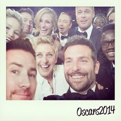 What an unforgettable evening! Love you guys :) #memories #oscars2014