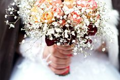Person Holding Bouquet of Flower  Free Stock Photo