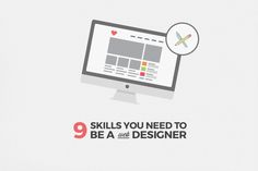 9 skills you need to have to be a successful web designer