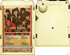Pink Floyd, Piper at the Gates of Dawn 8 track cartridge. Click the image to join the Laughing Madcaps Syd Barrett Group, now on FacebooK! The original! Around since 1998! The world's best Syd Barrett & early Pink Floyd fan group!