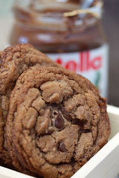 Nutella Cookie Recipe: If you're a fan of this rich hazelnut spread, you'll immediately love these cookies. Our judges were absolutely enamored with them in 2012.
