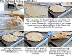 Mel's Kitchen Cafe | Homemade Flatbread {Greek Pocketless Pitas with a Simple Tutorial}