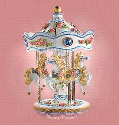 carousel ponies | Penny's Place In Cyberspace ~ Happiness Is A Carousel Ride ~